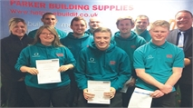 Apprenticeship success at Parker Building Supplies