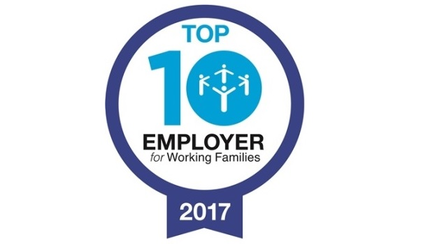 American Express named one of Britain's most family friendly employers