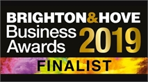 We are Brighton & Hove Business Award Finalists!