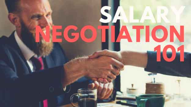 Salary Negotiation 101
