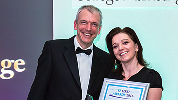 Gold award for Chichester College website