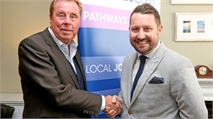 Harry Redknapp Kicks Off Love Local Jobs Foundation