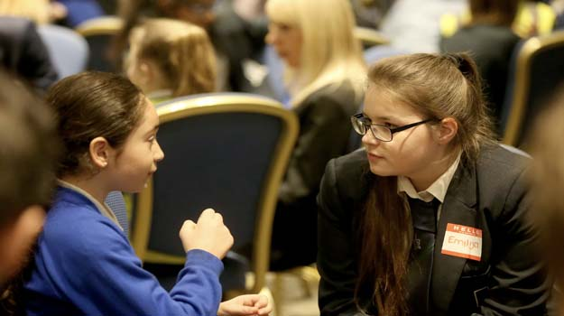 Crawley and Gatwick School Students Learn to Become Role Models