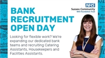 NHS Bank Recruitment Open Day - 19th September
