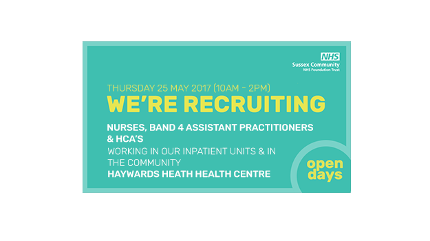 NHS Recruitment open day