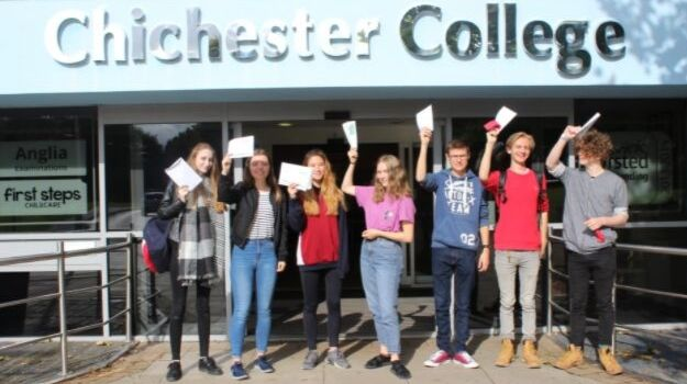 Chichester College students