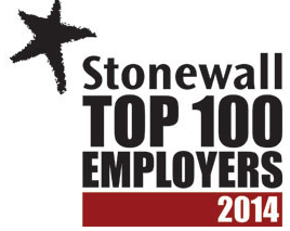 AMEX Stonewall Top 100 Employers 2014