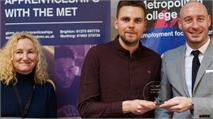And the award goes to… Outstanding apprentices at the MET