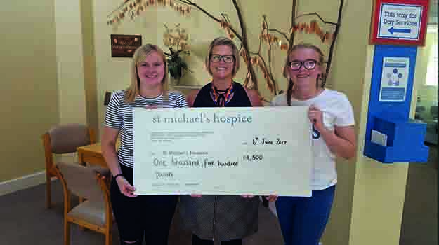 Student raises £1,500 for charity