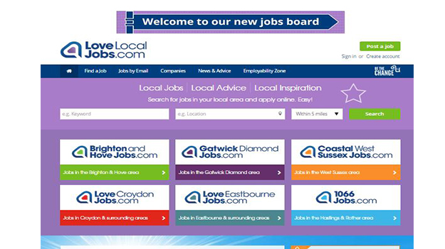 Bespoke Online Platform Puts LoveLocalJobs.com at Top of Recruitment League
