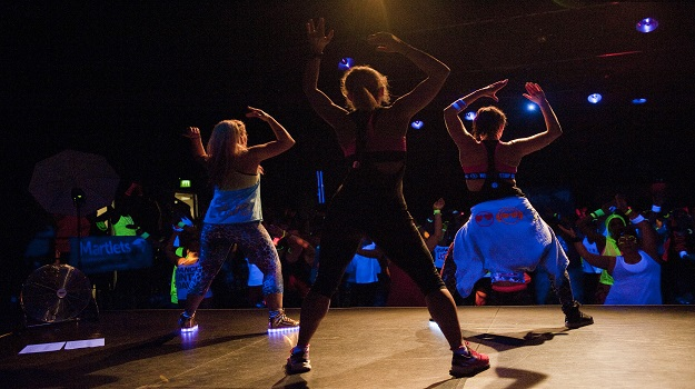 Party yourself fit with the Martlets Zumbathon®