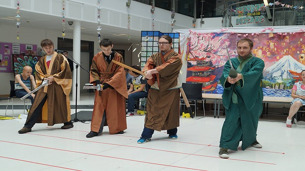 Students Host Japanese Themed Festival - Sussex Coast College