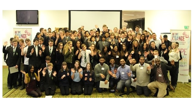Leicester students 'Be the Change' with Hastings Direct for a second year
