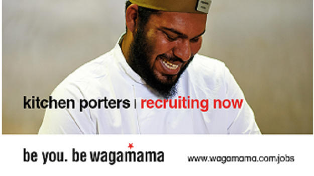 Power to personality! Welcome to wagamama gatwick!