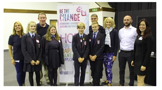 Bexhill Academy students 'Be the Change' with Hastings Direct for a second year