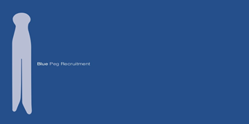 Blue Peg Recruitment logo
